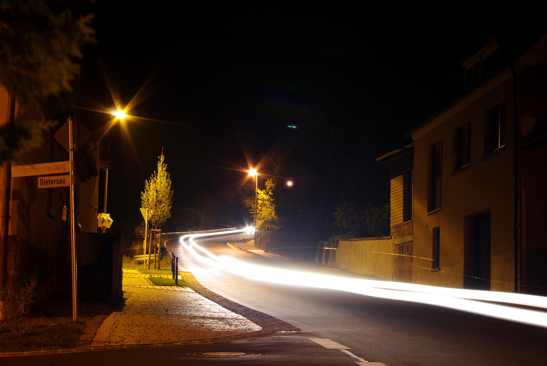 B27 am Ortseingang Gössenheim