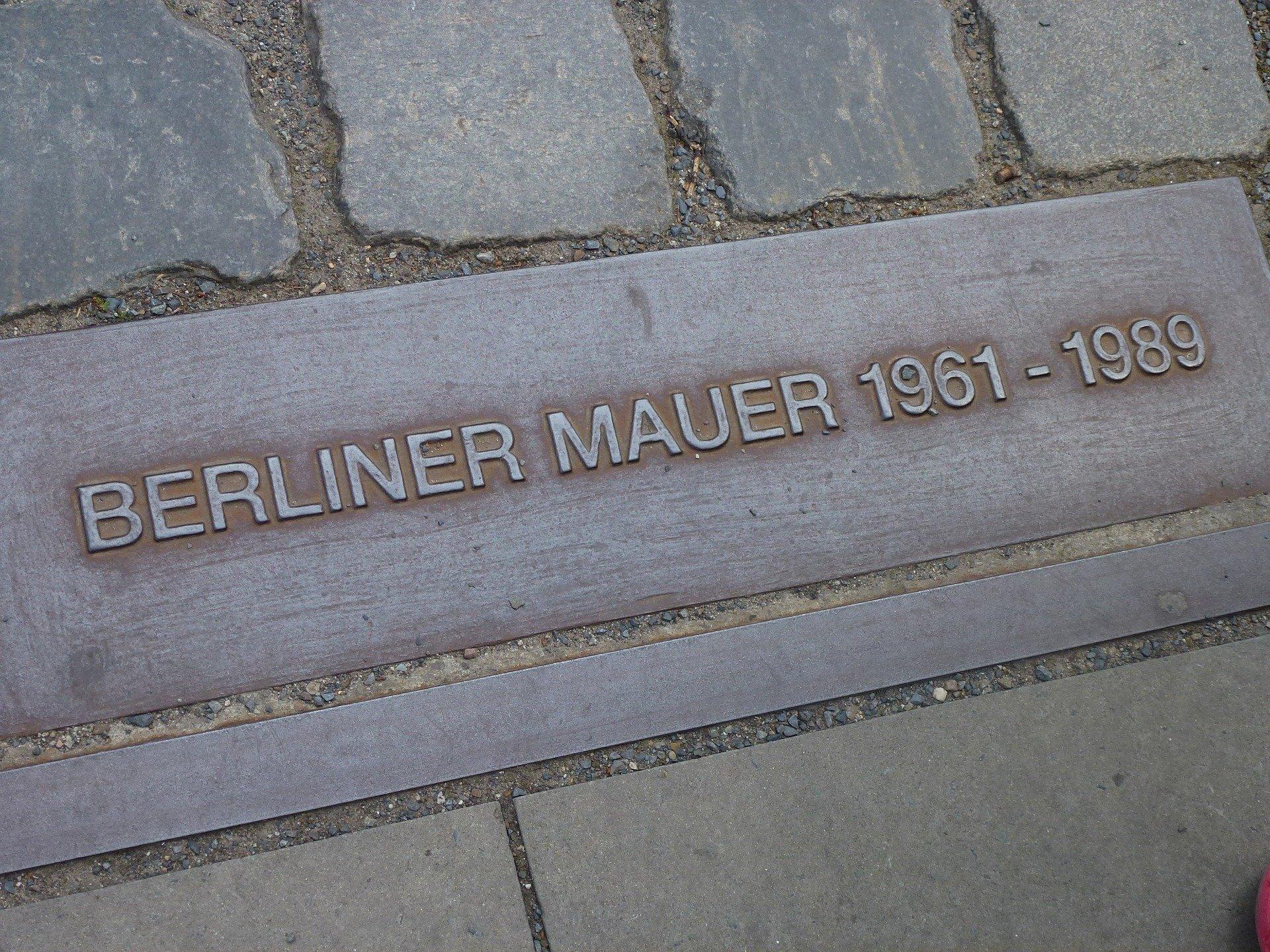 Gedenktafel in Berlin